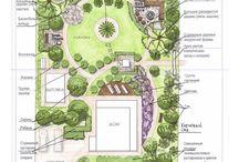 podorys zahrady