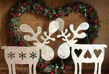 karácsonyi rénszarvasok
