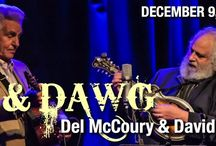 DEL & DAWG with Del McCoury and Dave Grisman at The Newton Theatre 8/5/2016 / More than 50 years after they first met, Del McCoury and Dave Grisman (Del & Dawg) share the stage in a concert tour worthy of two class acts. In a celebratory performance the legendary musicians will churn out Bluegrass classics, and jam together in a truly inspiring performance!