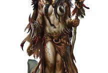 Indios, Malucos, Shamans, e afins rsrs