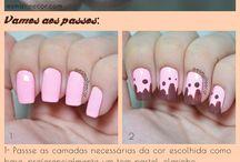 Chocolat nail art