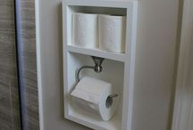Bathroom DIY Ideas / The best board on Pinterest to get all of your bathroom DIY projects from. If you want to pin to this board, shoot me a message or leave a comment on pone of my pins.