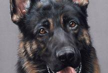 Malarstwo psy