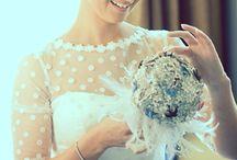 Powder Blue Bride / Powder blue wedding details #somethingblue