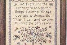 Serenity Prayer Stitching