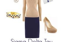 Sigma Delta Tau / by Alexandra Silvestri