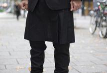 Man skirts