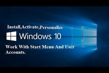 Clean Install Windows 10, Permanently Activate Windows 10, Personalize , Work With User Account