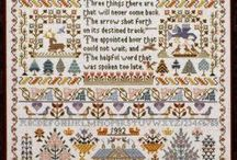 Cross Stitch and Needlework / by Becky Moore