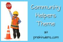 Preschool community helpers / by Julia Butina