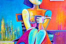 Arte moderna, Cubismo, Abstrato,