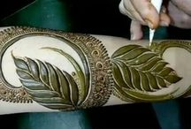 Arabic Mehndi Design for Brides
