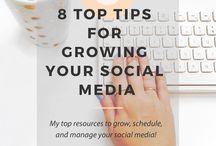 Social Media Tips / Strategy