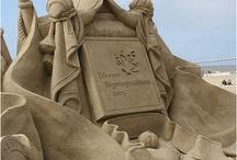 sculture di sabbia...