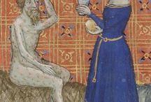 Zdobienia sukien 14 wiek