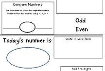 Common Core Math- Preparing Young Learners / Common Core Math ideas.