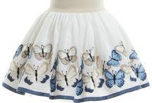 faldas para niña