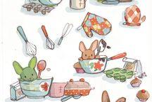 Ilustraciones cocina