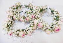 Coiffures fleuries mariage