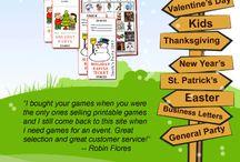 Game ideas / by Nancy Hollingsworth