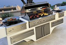 Outdoor Living / Outdoor appliances & decor for you to enjoy all year long!