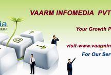 Vaarm Infomedia Pvt Ltd(Web Development) / Vaarm Infomedia pvt ltd Provides 1-Best class S/W Services. 2-Best class SEO SMO. 3-Template designing 5-Pdf Conversion ETC For more detail visit: http://vaarminfomedia.com/