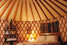 Yurts, Tents, Treehouses and Outdoor Living / by Daisy Fredericks