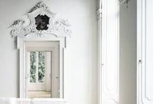 White / White rooms and white furniture.