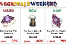 """Mega Deals weekend / At Mega Deals weekend event you'll find our HOTTEST DEALS from """"I Deal Smarter!"""" even cheaper, including ELECTRONICS, COMPUTERS, CELL PHONES, JEWELRY, BOOKS, GIFTS & CRAFTS and so much more. CRAAAZZZY prices that can drop as deep as 100% discount. Don't miss the next Mega Deals Weekend!"""