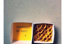 Geschenkideen / Schatz
