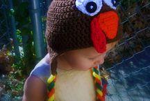 BONNET RIGOLO / plein de bonnets rigolos au crochet !  / by Odile Croc'