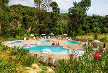Corsica's Favourite Holiday Parks / Al Fresco Holidays offer fantastic family mobile home holidays, check out our collection of parks in Corsica.