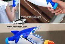 etende haaien spel