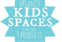 Organizing: KIDS / Ideas to help organize kids' spaces!