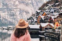 Hallstatt winter photos