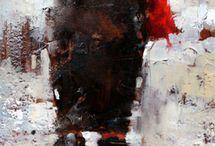 Brush strokes / art