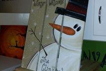 Winter dekor