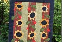 flowers quilt