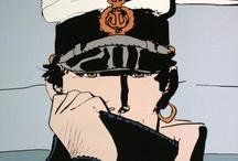 Art: Hugo Pratt / Corto Maltese! / bande-dessinée à son meilleur / romantisme / histoire / history / romance / aventure / elegance