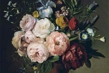 Inspiring flowers / Flowers in art and real life