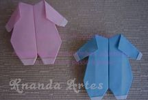 Babyshower origami