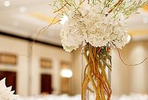 Floral arrangements with branches, sticks, twigs, etc