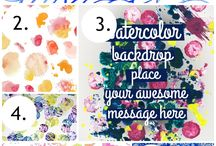 Graphics for Printables & Blog