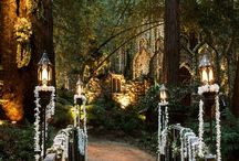 INSPIRATION: ADAM + KAYLA / Inspiration for Adam + Kayla's Lord of the Rings inspired wedding.