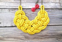 DIY Rope Knot Necklace | Collier en Corde
