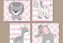 Decoratie baby/kinderkamer