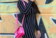 New post up ... My favorite post up ... Outfit for this fall/winter 2014... By H&M ... / Dress in black and White ... By H&M ... I shopped my bag to Slovenia ... And my glasses in NYC to Urban Outfitters ... My cap of the My creations !!!