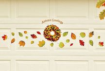 Fall Decor For Your Garage Door