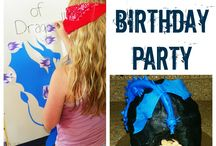 Dragon Birthday Party / by Shawnda Erb