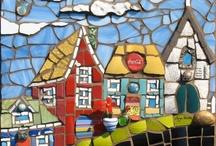 Mosaic houses